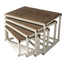 Lot de 4 Bancs Plio Gigognes