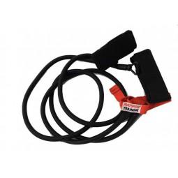 Elastique double avec chevillères - Résistance forte (rouge)