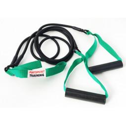Elastique double avec poignées (vert léger)