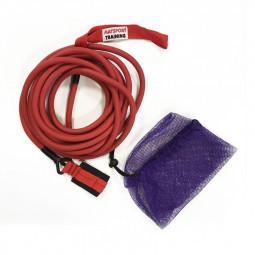 Elastique d'entraînement natation 6m fort (rouge)