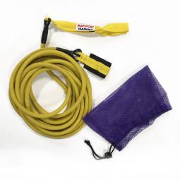 Elastique d'entraînement natation 6m moyen (jaune)