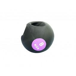Medecine Ball 8Kg Double Poignée