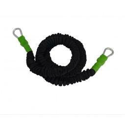 Elastique gainé 150 cm - résistance légère (vert)
